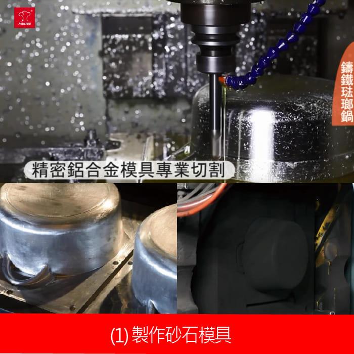 鑄鐵鍋製造過程-02砂石模具.jpg