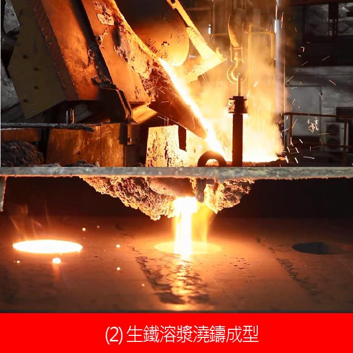鑄鐵鍋製造過程-03生鐵澆鑄.jpg